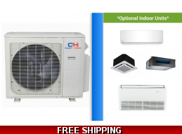C&H Custom Multi Zone Mini Split Heat Pump AC Ceiling Cassette Ducted
